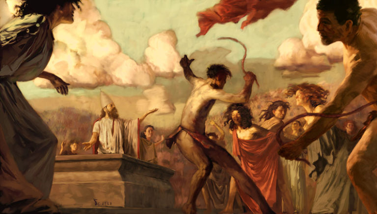 Il tema di Sadistique di giugno è… Devianze greco-romane